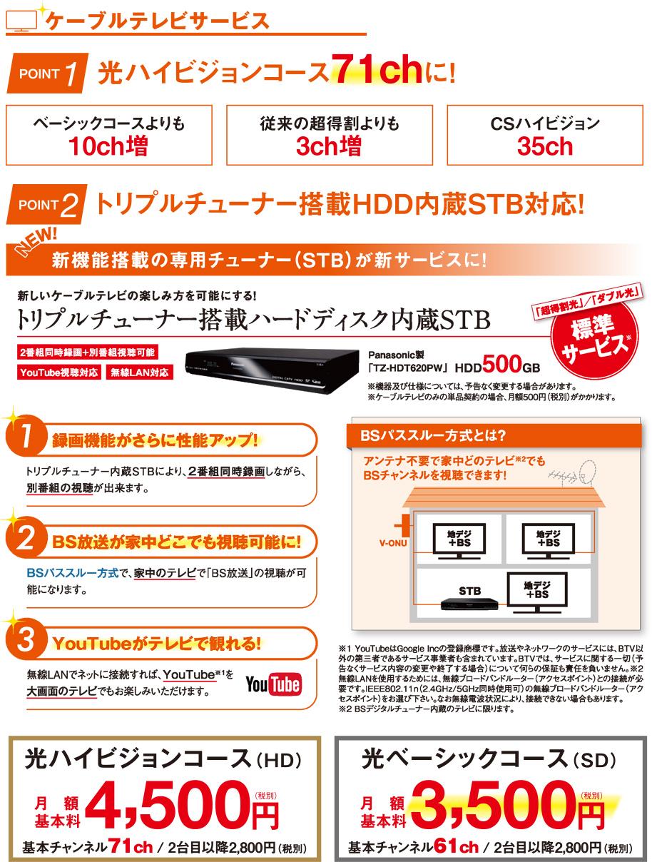 TVお得情報!!